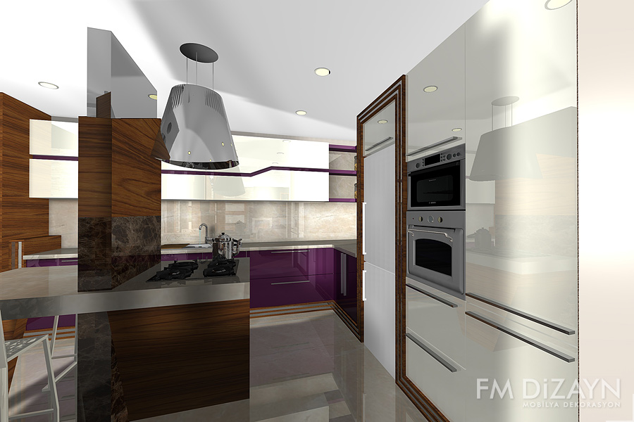 Mutfak Mobilya Dekorasyonu | F&M DİZAYN Mobilya Dekarasyon ...